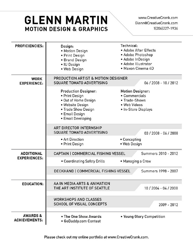 creative resume headers resume ideas
