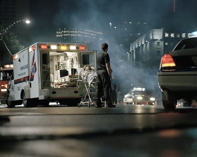 paramedic Employees Only by Jesse Louttit in THISISPAPER MAGAZINE
