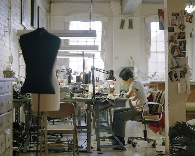 seamstress Employees Only by Jesse Louttit in THISISPAPER MAGAZINE