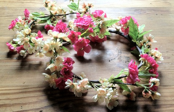 To a wedding or just to the beach bring out your inner flower child